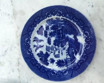Flo blue plates