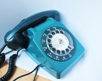 BLUE PHONE 1960
