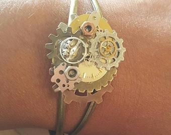 Steampunk'd bracelet