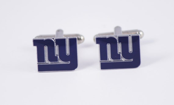 New York Giants Cuff Links -- FREE SHIPPING with USPS First Class Domestic Mail
