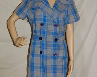 Philip Of Dallas vintage 1960s mod retro shift dress