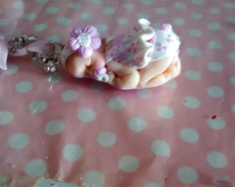 Lavero polymer clay baby