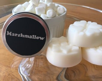 Lotion Bar Marshmallow - Fluffy marshmallow- solid lotion bar - travel size - all natural