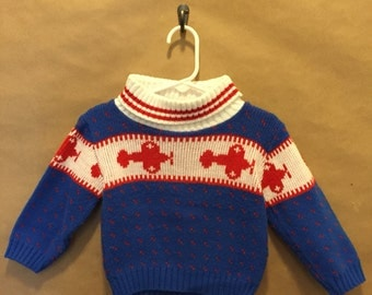 Airplane Sweater 24 Months