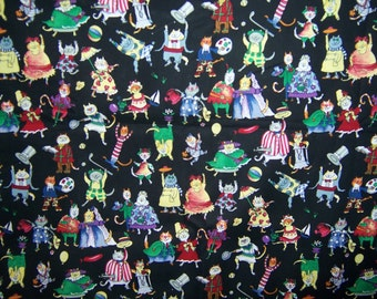 this and that kats by the Alexander Henry Fabrics Collection. 2 yards, 100% cotton.  Cats