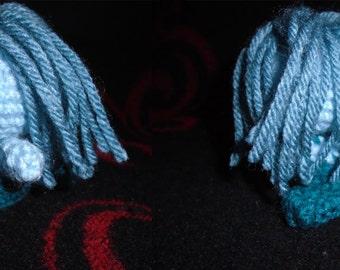 Crochet Blue Mermaid Amigurumi
