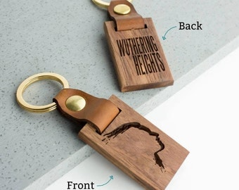 Wuthering Heights Keyring