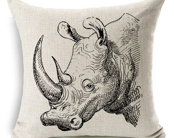 RHINO Pillow Cover 45x45cm