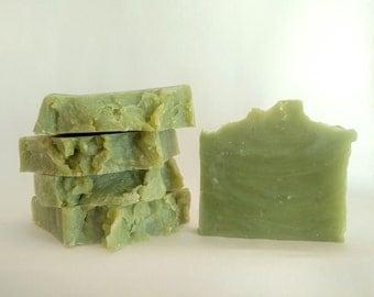 Pure Mint & Hemp Soap