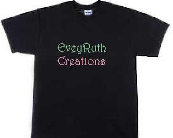 Custom Design T-Shirt Adult