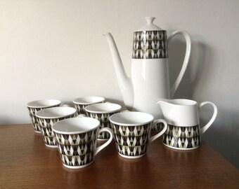 Vintage Royal Tuscan Coffee Set Concerto