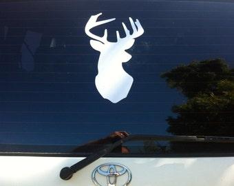 Deer Head sign Vinyl decal