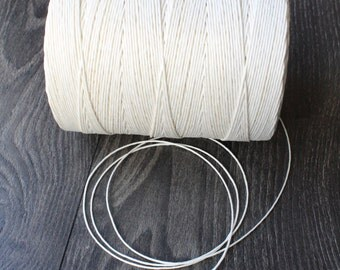 Twine was poking white polished linen 4/5 sold per metre