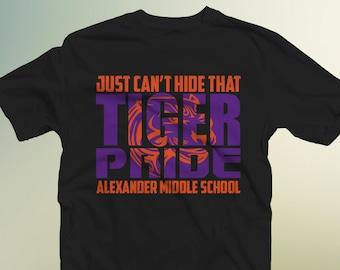 Just Can't Hide that Tiger Pride-School Spirit Shirt