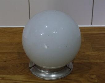 White Round Ceiling Light // Globe Ceiling Light
