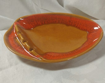 California pottery mid century ashtray
