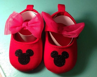 Mickey Mouse Toddler Shoes