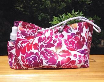 SALE!! Diaper Bag in Aloha Hawaii -Hawaiian Bag Floral Diaper Bag Oversized Beach Tote Hawaiian Tote Bag Large Beach Bag Large Diaper Bag