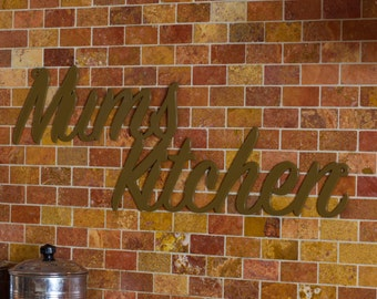 Personalised Kitchen Sign