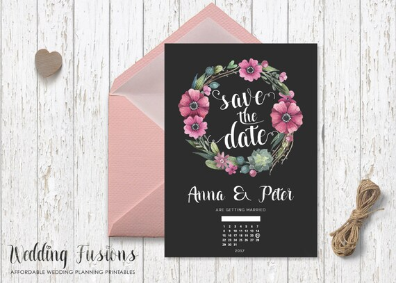 save the date printable save the date save the date printable