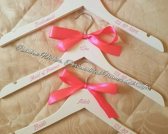 Bridal and Mr and Mrs Coat Hangers