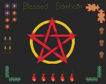 Cross Stitch Pattern - Samhain