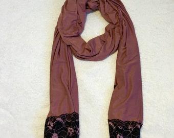 Purple Jersey Hijab