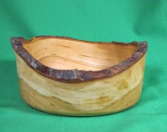 Small Cherry Natural Edge Bowl