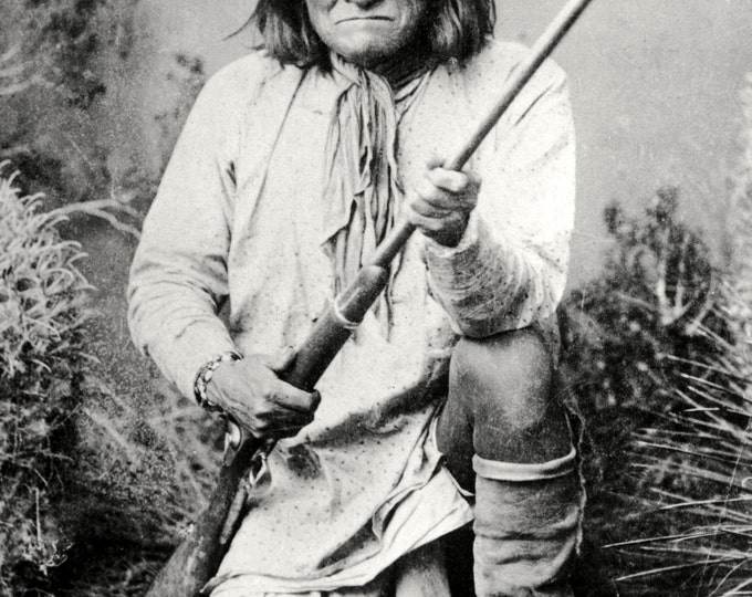 Geronimo, Chiricahua Apache - 5X7, 8X10 or 11X14 Photo (AZ060)