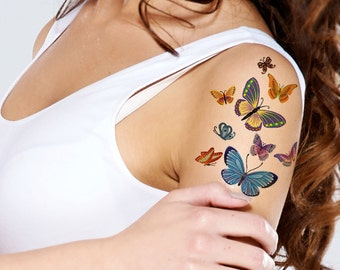 Supperb® Temporary Tattoos - Lots of Butterflies Ii