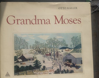 1973 Grandma Moses , a Catalogue of the Works, over 350 pgs Large heavy book featuring 135 full color Art