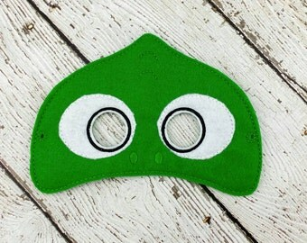 Chameleon Mask / Party Favor / Dress up / Pretend Play