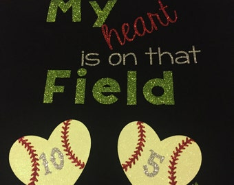 My heart on the field