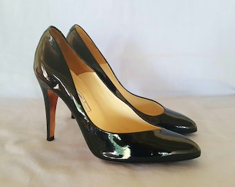 "Brian Atwood ""Nico"" Patent leather Pumps Sz. 36.5"