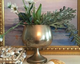 Brass Goblet or Vase