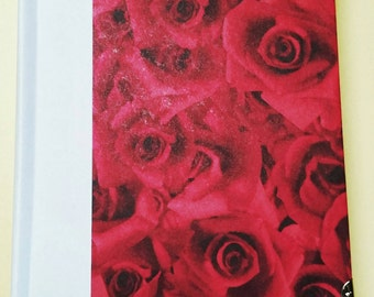 Rose Journal 4.5x5.5 Red