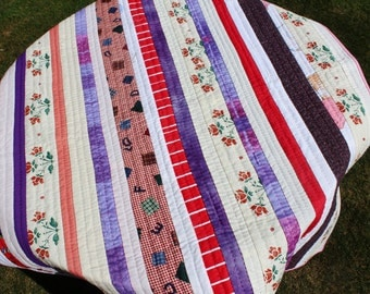 Handmade Kantha Quilt - Charity Item