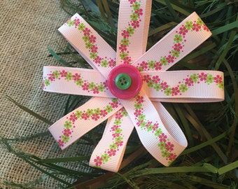 Pink Ivy Bow