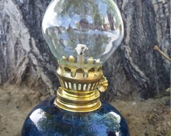 small stoneware storm lamp