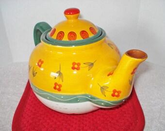 Folk Art Teapot