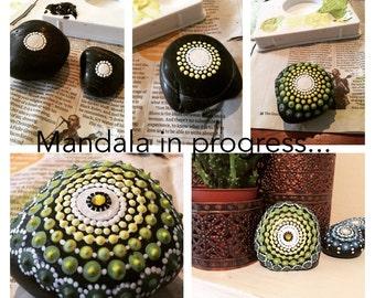 Lemmon and Green Mandala