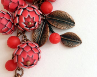 "Keychain ""Red ashberry"""