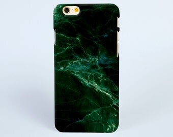 iPhone 7 Case emerald green marble print, iPhone 7 plus Case, iPhone 6 Plus Case, iPhone 6 Case, iPhone 6s Case, iPhone 6s plus Case