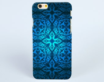 iPhone 7 Case Damask grand blue iPhone 7 Plus case iPhone 6s Plus Case iPhone 6s Case iPhone 6 plus Case, iPhone 5S Case, tough iphone cases