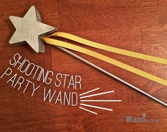 Shooting Star Party Dance Wand (Silver or Gold)