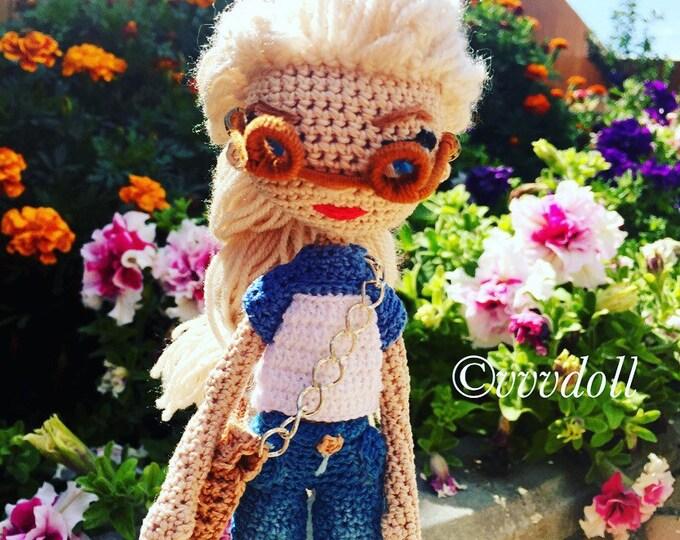 BEAR FLAG OF Russia Handmade Amigurumi Stuffed Animal Toy Knitting ... | 540x680