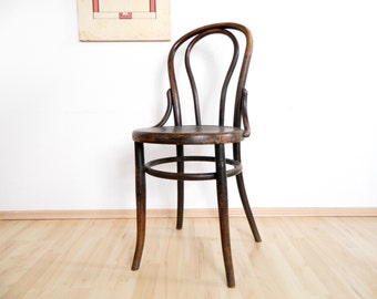 Bentwood Chair antique Fischel/London 1900