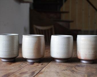 Cup  //  white slip  //  ceramic  // stoneware