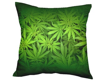 Pillow Green World