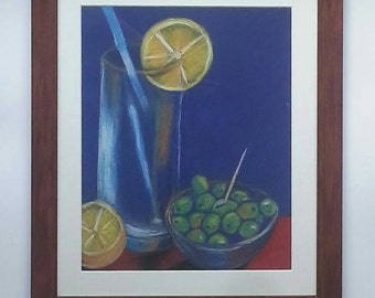 Gin & Tonic with Olives